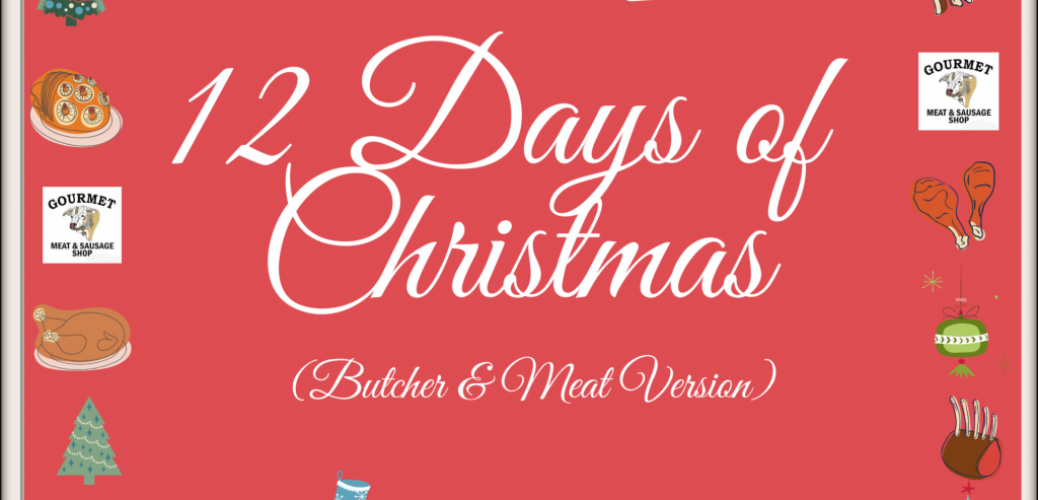 12 Days of Christmas Butcher and Meat Version