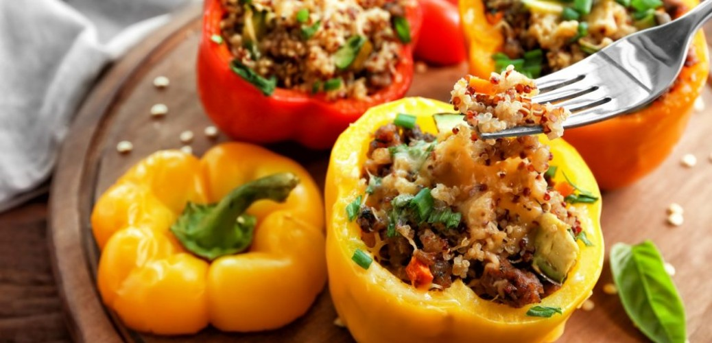 Beef Stuffed Bell Peppers Recipe