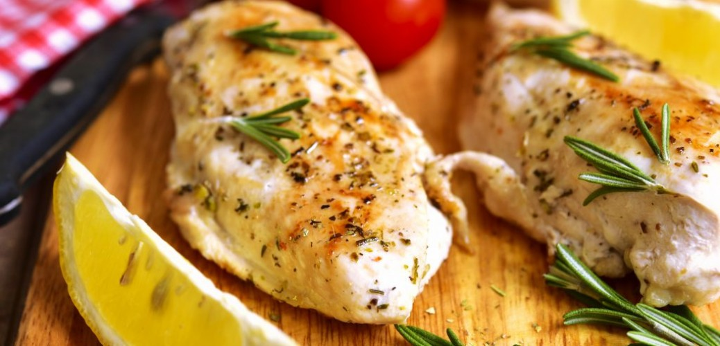 Easy Recipe for Grilled Chicken With Rosemary, Garlic and Lemon